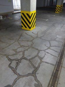 ремонт напольного покрытия